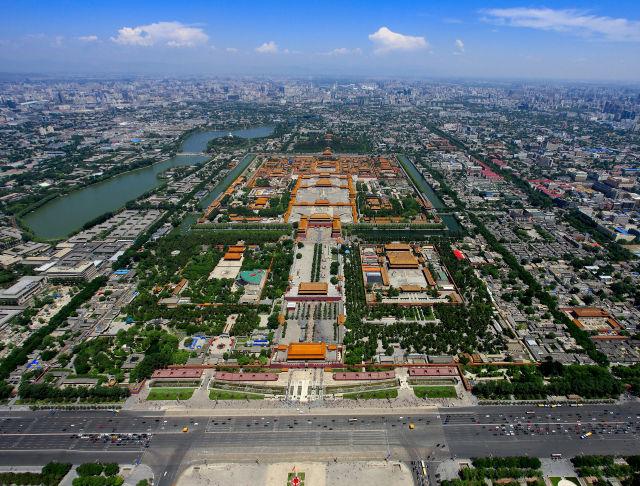 北京中轴线上的色彩乐章