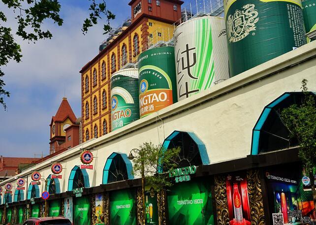 啤酒飘香:实拍青岛百年登州路啤酒街