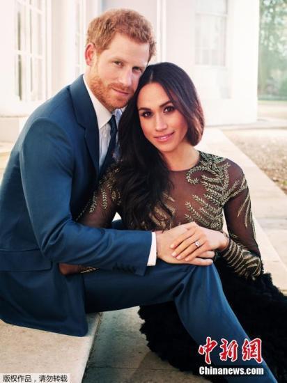哈里王子大婚在即 民调称近七成民众对婚礼不感兴趣