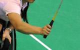 省残疾人运动会轮椅羽毛球项目开赛 东营市运动员参赛