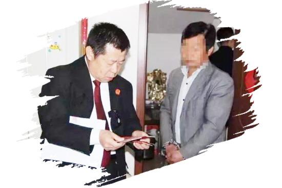 """淄川法院凌晨再行动 拘传8名""""老赖"""""""