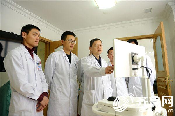 以高精尖的技术造福患者 记烟台毓璜顶医院手足外科林国栋主任及其团队