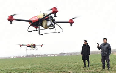 邹平发展智慧农业 监测系统覆盖20多万亩农田