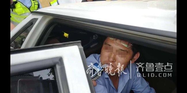 枣庄一司机醉醺醺开车送工友就医 是帮人还是害人?