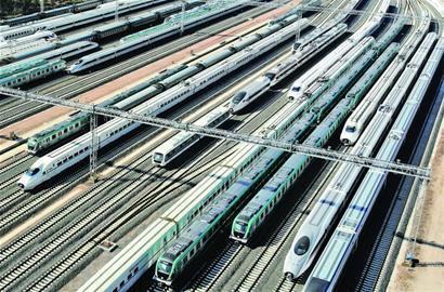 """""""青岛制造""""高铁动车棒棒哒 出口到20多个国家和地区"""