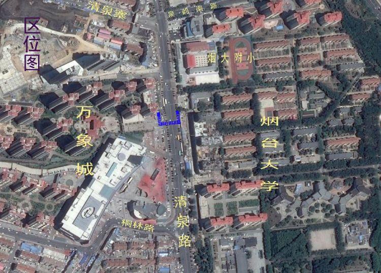 烟大过街通道工程项目选址核发批前公示(图)