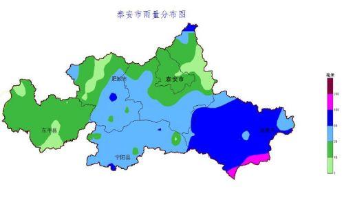 泰安市今年降水超去年同期近七成