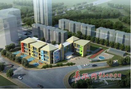 李沧汉川路幼儿园即将开工 预计2019年9月份投入使用