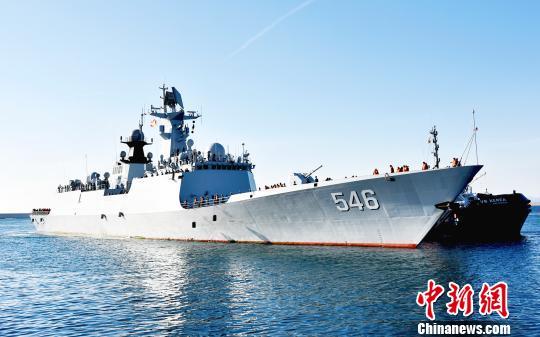 中国海军第二十八批护航编队技术停靠西班牙