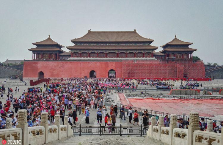 北京故宫博物院分区域分时分段修缮