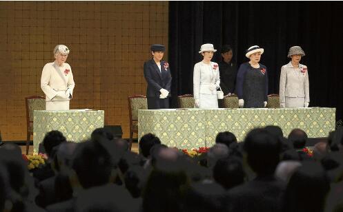 日本美智子皇后出席该国红十字大会 系在位期间最后一次