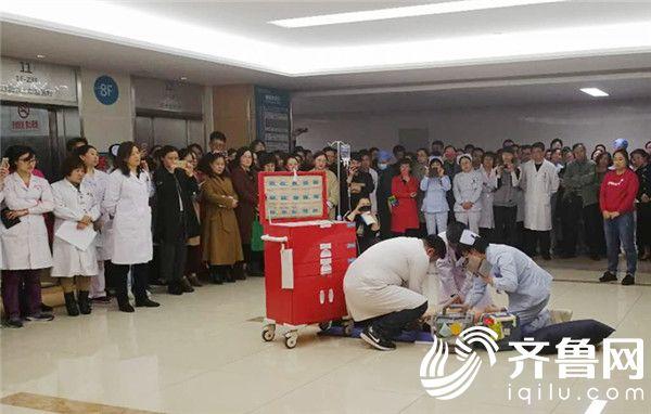 滨医烟台附院胃肠外科成功抢救一名猝死患者