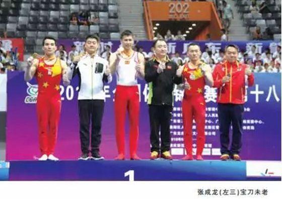 【齐鲁竞技】老将新人齐发力 体操全锦赛山东勇夺两金