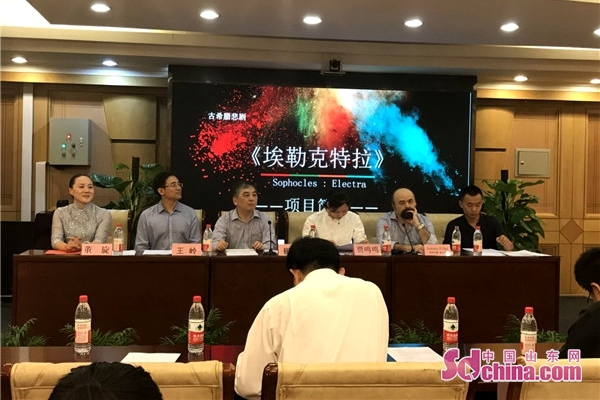 《埃勒克特拉》即将亮相泉城 搭建中外文化交流新平台