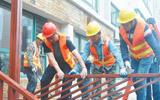 高新区城市社区帮拆行动首战告捷 两天拆除违法建设59处