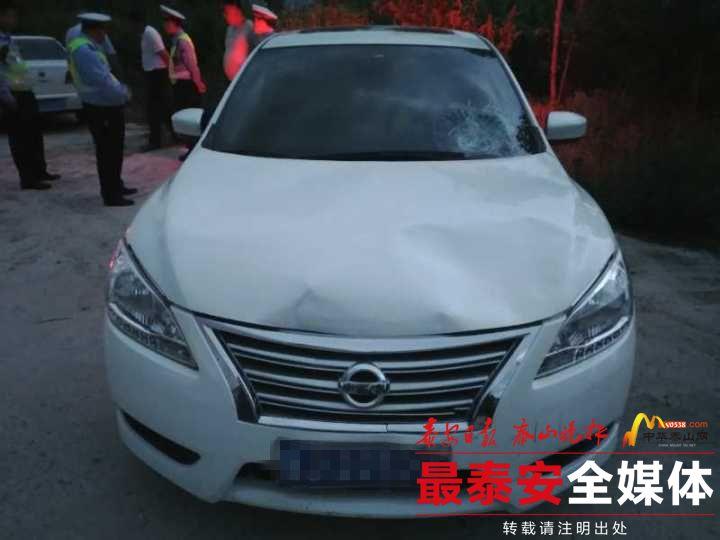 泰安:轿车与电动车相撞 因肇事逃逸轿车驾驶员负全责