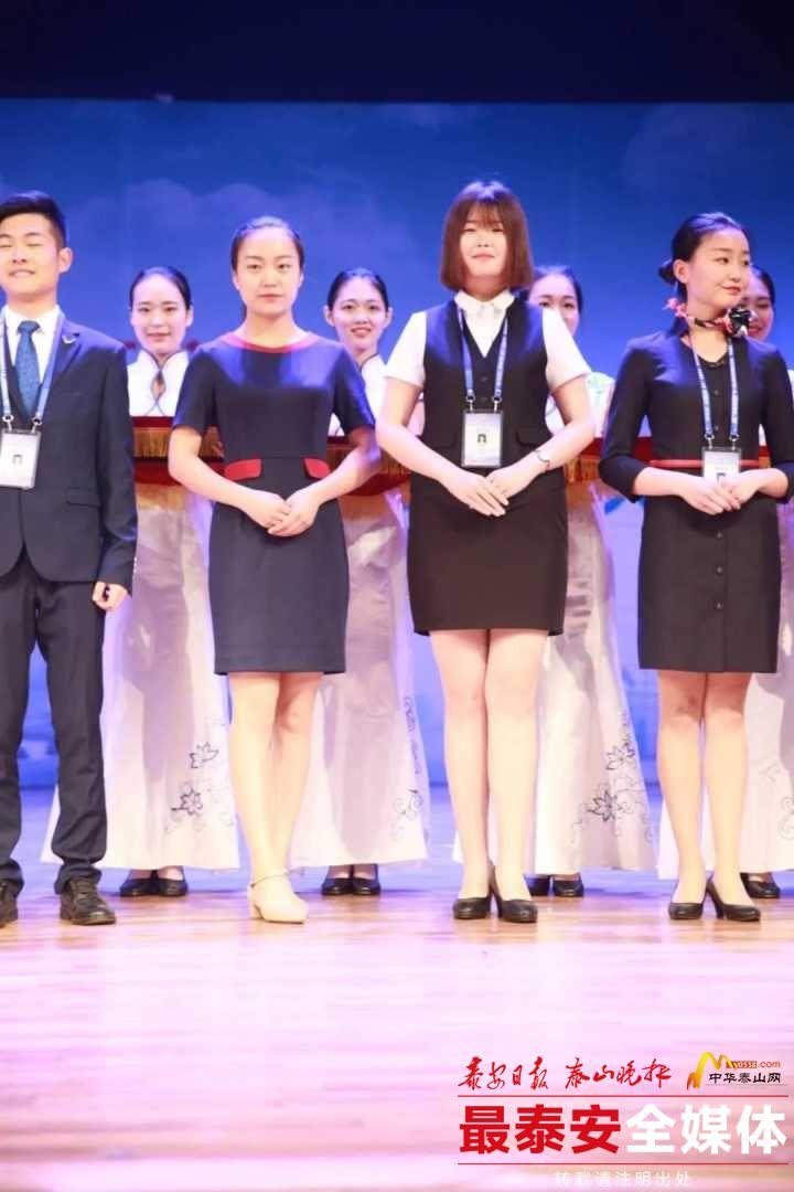 泰职学生在全国导游服务技能大赛上摘金夺银