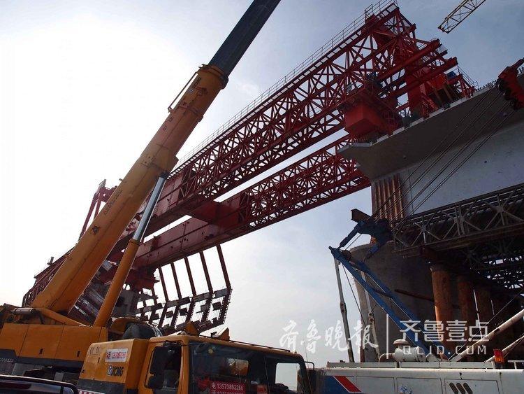 拼积木?胶州湾跨海铁路桥用上黑科技