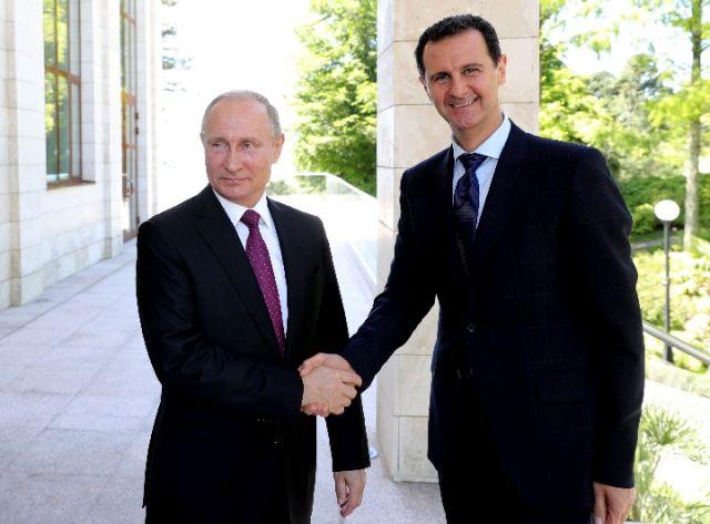 普京再会巴沙尔 促叙利亚政治进程
