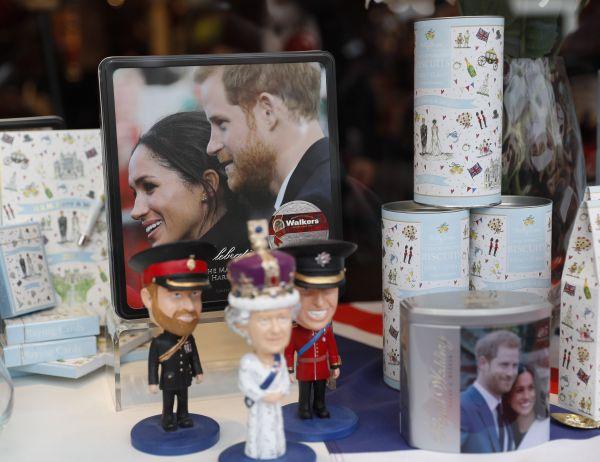 哈里王子迎来大婚盛典 将有10万游客见证幸福时刻