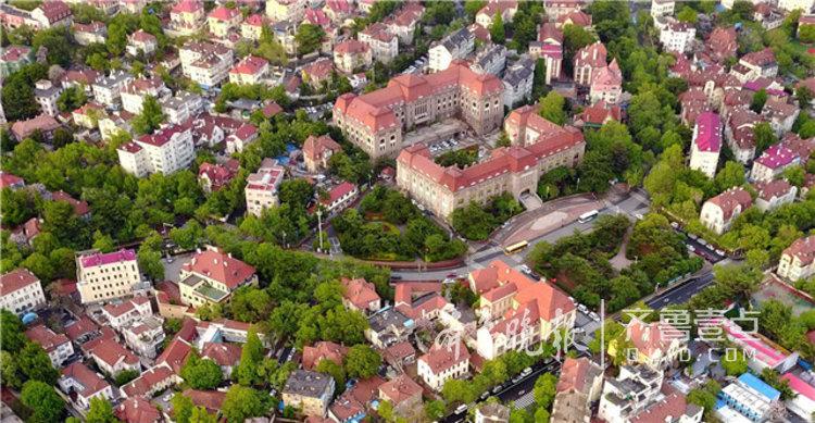 青岛最美红瓦绿树景区,西部老城变靓