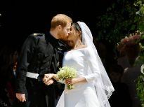 英国哈里王子温莎城堡举行世纪婚礼 英王室迎来首位非裔王妃