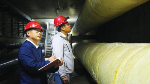 泰安高铁新区地下综合管廊即将投用
