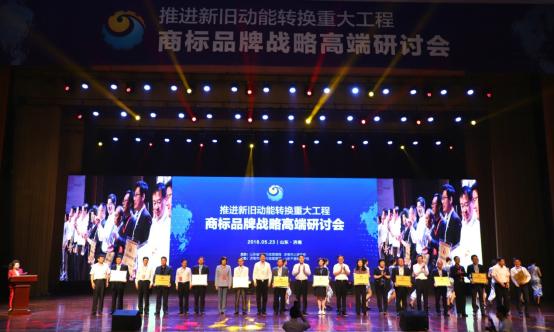 品牌创新标杆 雷丁获山东省商标品牌示范单位奖610