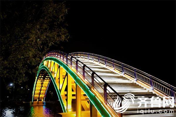 蓝湖公园彩虹桥_看图王