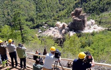 朝鲜废弃丰溪里核试验场
