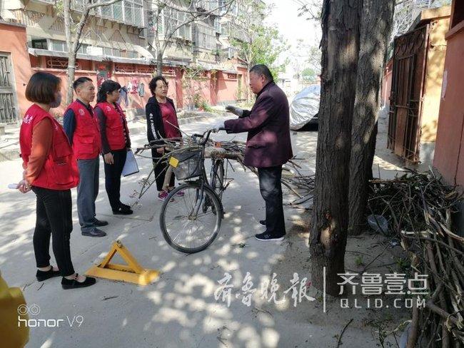 """奋战创城季,泰安岱庙街道""""网格+""""为创城助力"""