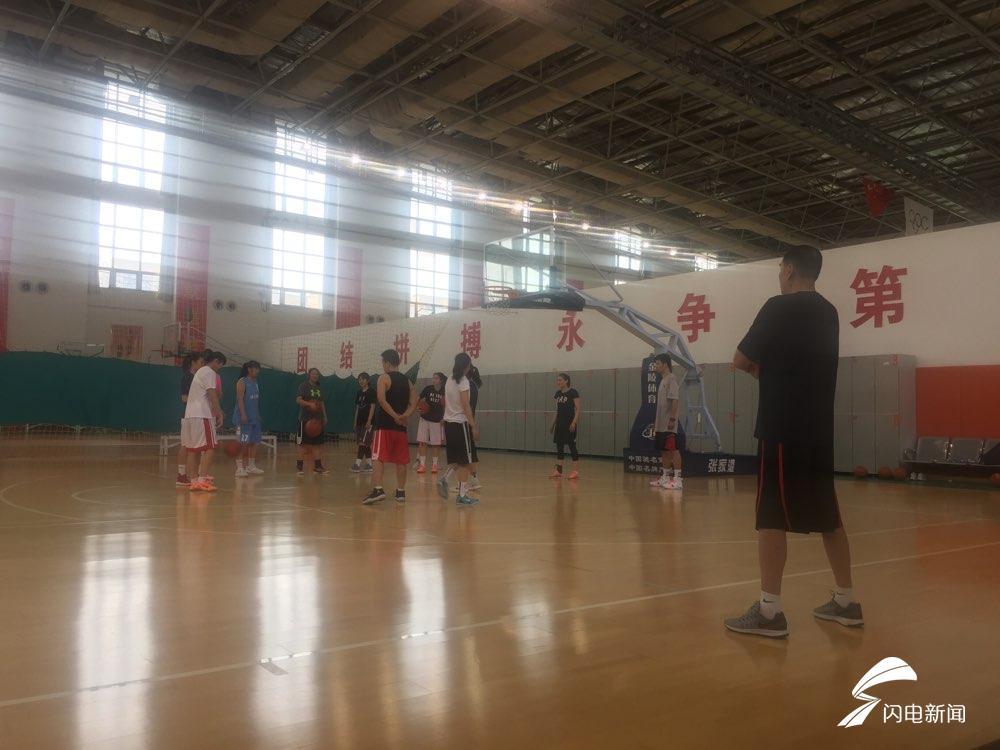 高速女篮备战全国锦标赛 国字号集训达6人