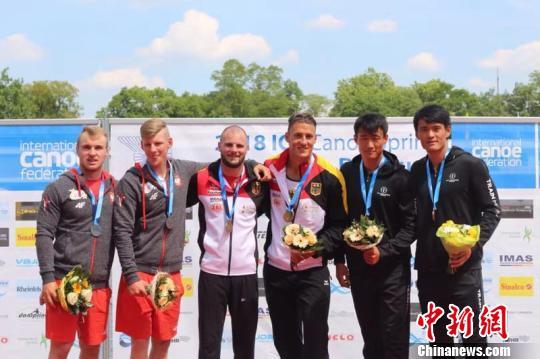 皮划艇世界杯德国站中国队位居奖牌榜第三位
