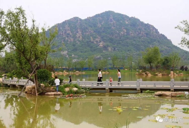 济南华山湖已挖成这样啦 还暗藏最大规模古建筑群