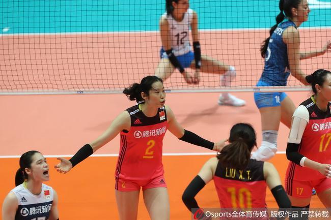 朱婷16分中国女排3-0阿根廷 世联香港站轻取首胜