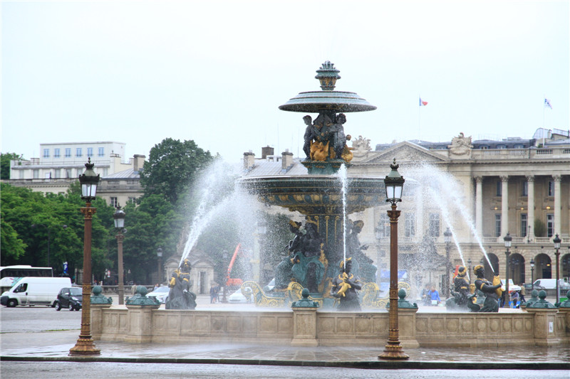 46、协和广场喷泉