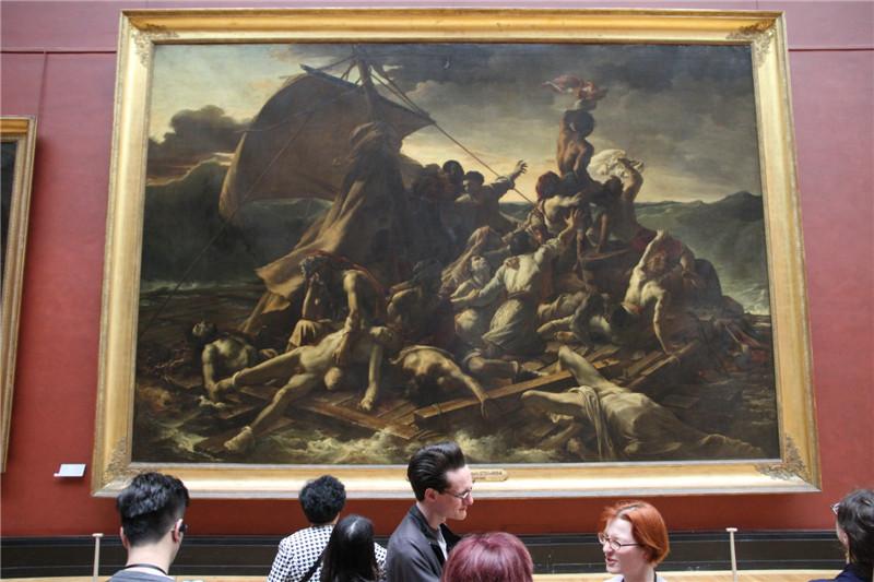 51、卢浮宫油画