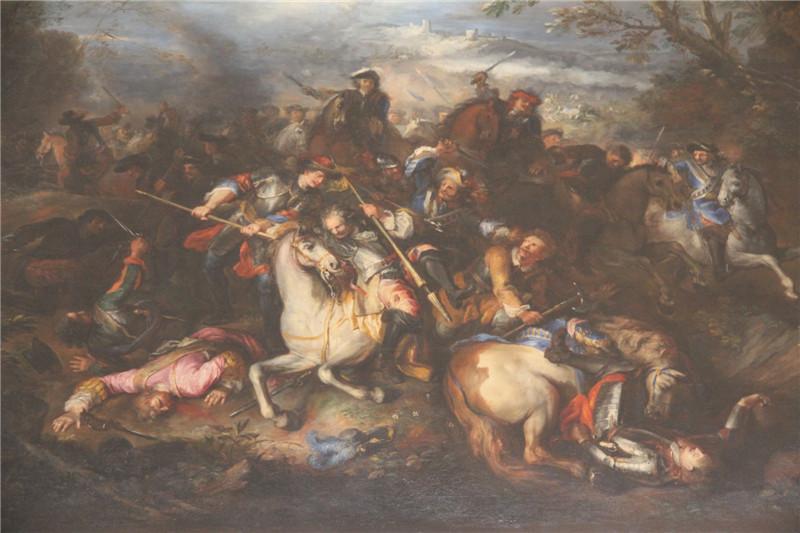 62、凡尔赛宫的油画