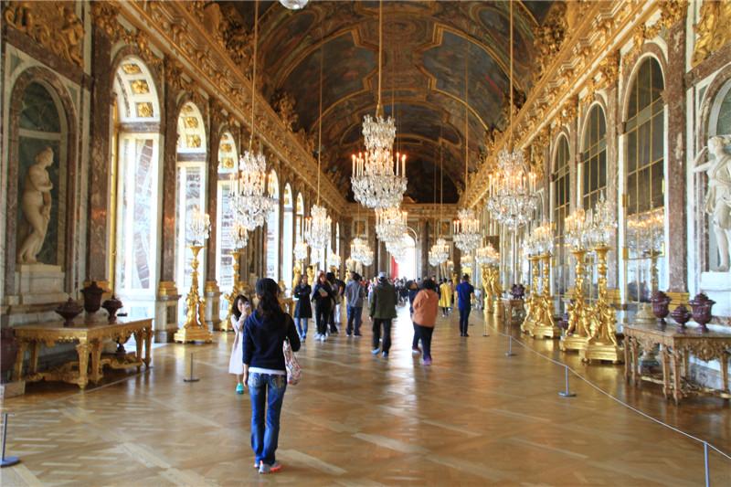 61、凡尔赛宫内部