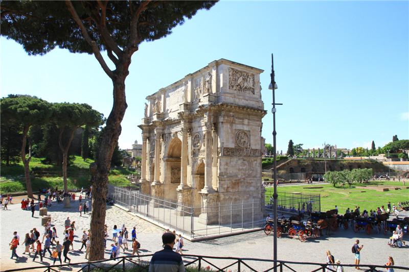 93、罗马君士但丁凯旋门