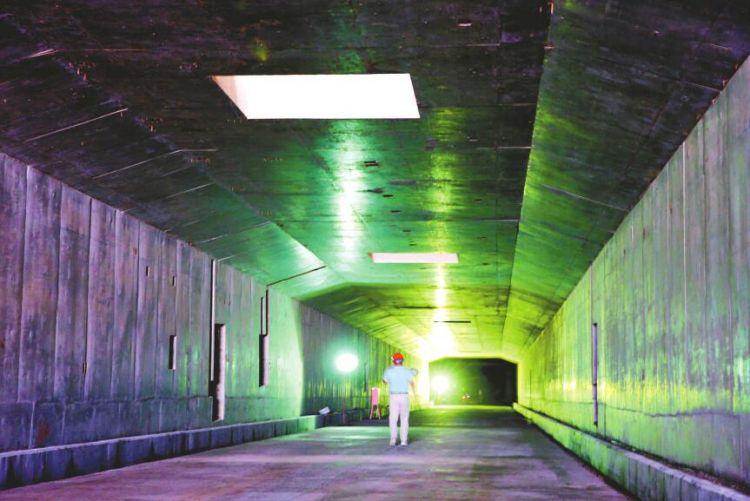 全长2125米 济南市最长地下环路亮相