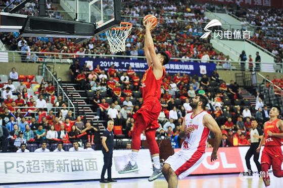今夏第一赛!中国男篮蓝队77-67力克伊朗队迎开门红
