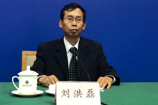 山东省国土资源厅地质环境处处长 刘洪磊