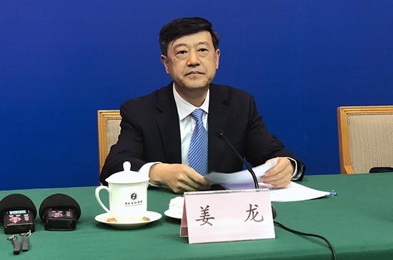 山东省财政厅二级巡视员 姜龙