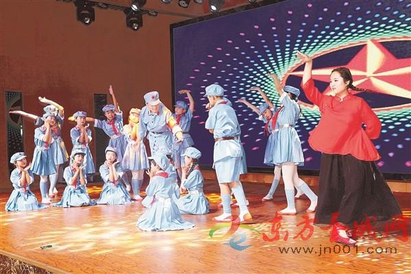 欢度儿童节 竞逐中国梦