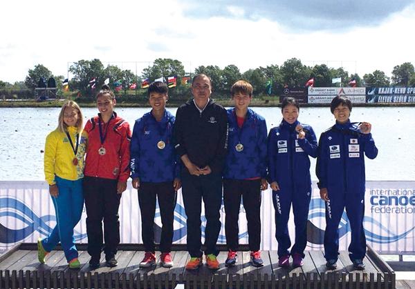 山东女子划艇世界杯夺5金1银