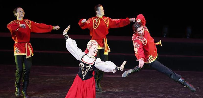 翩跹而至 上合艺术节民族舞蹈晚会在京举行