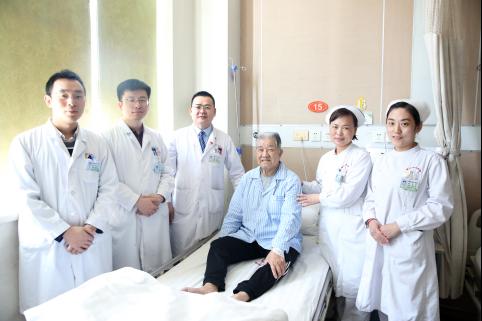 高龄巨大前列腺切除患者术后恢复良好