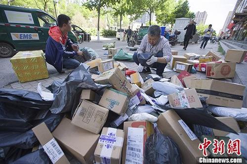 5月份中国快递物流指数明显回升 跨境快件业务同比增75%