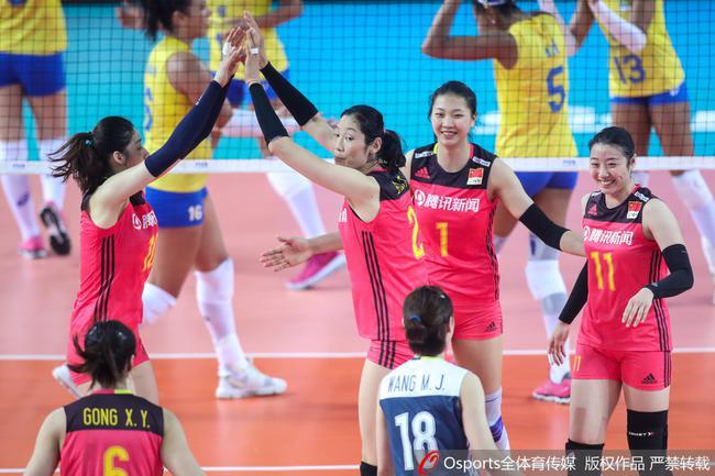 朱婷34分中国2-3惜败巴西 无缘世联江门站开门红